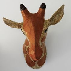 22 Awesome  papier mache animals heads images