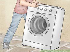 How to Fix a Shaking Washing Machine: 8 Steps