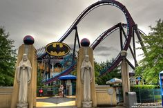 1st Runner Up   Six Flags New England Batman the Dark Knight   (never rode it but looks really cool!)
