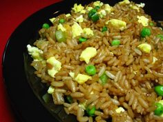 The secret to the best Chinese fried rice is onions, garlic and sesame oil, you may add in cooked chicken, beef, pork or shrimp,