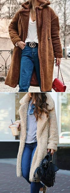 54 Ideas For Dress Winter Coat Hair Mode Outfits, Stylish Outfits, Winter Outfits, Fashion Outfits, Womens Fashion, Dress Winter, Fashion Clothes, Fashion Ideas, Fashion Trends