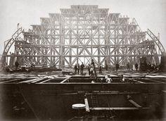 Construction of St Pancras Station
