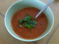 Tomato And Basil Soup - Homemade tomato & basil sou