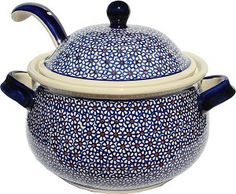 Soup Tureen with Ladle - Pattern 120