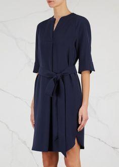 Navy jersey dress - Dresses - All Clothing - Women