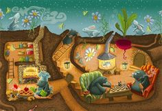 Iryna Bodnaruk - professional children's illustrator, view portfolio