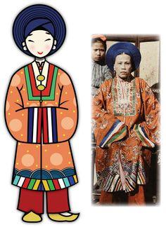 Owl Doodle, Vietnamese Clothing, Vietnam History, User Profile, Illustrators, Old Things, Fan Art, Culture, Deviantart