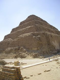 Step Pyramid of Djoser old kingdome 3rd dynasty ,architect imhoteb, Sakkara, Giza, Egypt