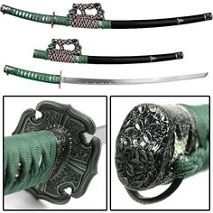 Jin Tachi refers to the way the sword attaches to an Obi (worn sash). Two hangers are used attach the sword to the obi, and the blade is hung edge down. This sword is equipped with a stylish 26 inch stainless steel blade.   Full description available by clicking on picture...