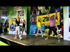 Raquel Call in Chile - Aquecimento das Panteras- Zumba Chile 2013 - YouTube