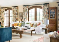 F. Schumacher Hot House fabrics color: Spark