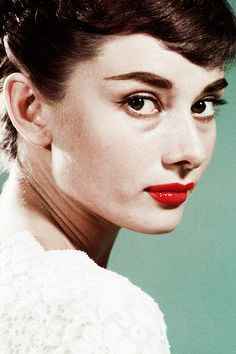 """""""I'm not beautiful. My mother once called me an ugly duckling. But, listed separately, I have a few good features."""" Audrey Hepburn"""