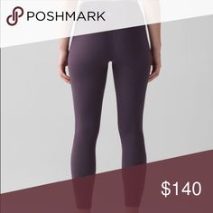 Black Swan Align Lululemon Crop Size 6 new with tags attached❤️Black Grape lululemon athletica Pants Leggings