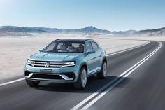 Volkswagen cross coupe GTE showcases future design language for SUVs