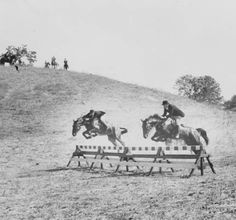 West Valley Hunt Club in annual Fox Hunt, 1950 :: San Fernando Valley History