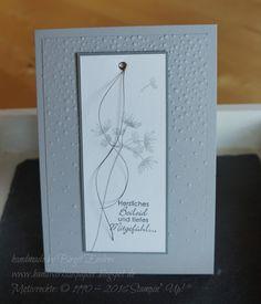 HandWerk aus Papier: Trauerkarten auf Bestellung