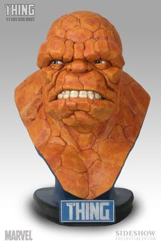 Life-Size Bust - The Thing #2925