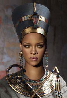 I knew, Riri was Cleopatra ...