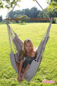 NewLine Hanging Chair XL elephant grey [XL] - €99.00 : High Quality Hammocks, Hanging Chairs, Stands and Accessories, Marañon World of Hammocks