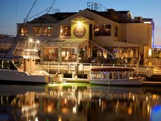 The Cannery in Newport Beach...forever famous for it's wonderful atmosphere, elegant coastal decor, amazing seafood and great entertainment!  You will love it, it's one of my favorites!!!
