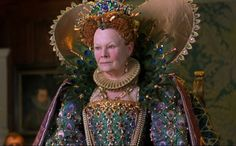 Elizabeth's Blue & Gold 'Peacock' Gown (Shakespeare in Love, 1998).