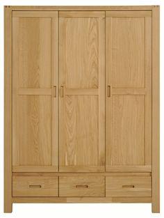 dulap 3 usi - pat - Mobila Dormitor ETHAN modern stejar | RON0.00 | #Mobila