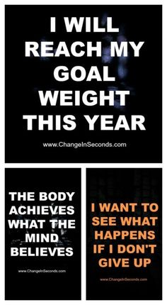 Weight Loss Motivation...