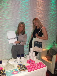 Staff promoting EAD at Liverpool Fashion Week