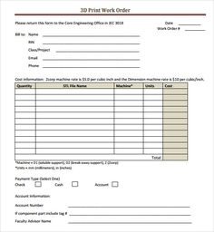 Purchase Order Template With Autoinvoice Tool  Business