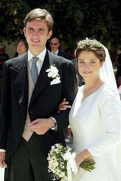The hereditary Prince Heinrich zu Sayn-Wittgenstein-Sayn married the Countess Priscilla Incisa della Rocchetta in 2003.