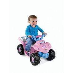 Pink Sporty ATV Power Wheels Toddler Disney Princess Lil' Quad