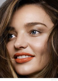 Miranda Kerr Takes On Spring's Hottest Lipstick Shades in Shoot for Glamour