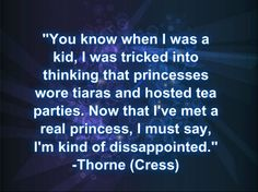 Another inspirational quote from Captain Carswell Thorne