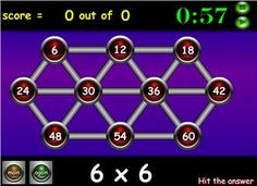 All Tables - Random < Maths Zone - Free Cool Learning Games for School Ict Games, Fun Math Games, Learning Games, Math Rotations, Literacy And Numeracy, Teaching Multiplication, Teaching Math, Teaching Ideas, School Resources