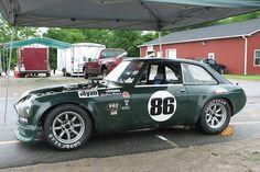 MGB GT race car