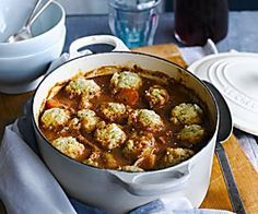 slow cooker beef stew with dumplings