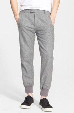 636e12a30 Helmut Lang Twill Jogger Pants available at #Nordstrom #MensFashionEdgy  Mens Jogger Pants, Cargo