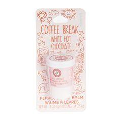 White Hot Chocolate Flavored Coffee Break Lip Balm | Claire's