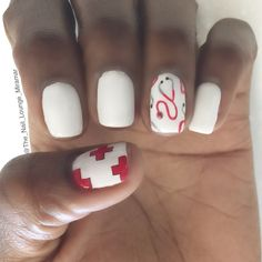 Dr. / nurse nail art design