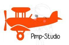 Veloursmotief Vliegtuig 1