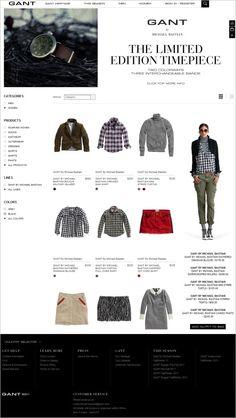 GANT on Magento Michael Bastian, B Line, Ecommerce, Shopping, Accessories, Color, Black, Women, Black People