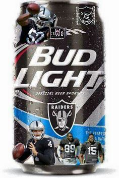 Raiders Bud Light