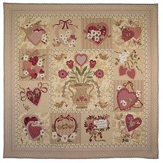~ Vintage Valentine ~ Lots of work but love this....  thevintagespool.com Verna Mosquera