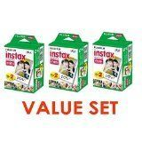 #10: Fujifilm Instax Mini Instant Film (3 Twin Packs 60 Total Pictures)