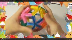 Оригами. Делаем из бумаги прыгучий мяч
