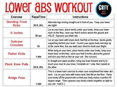 Lower Abs Workout need this for the after baby pudge I have left lol