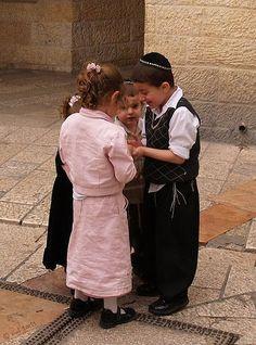 Children In Jerusalem