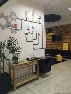 Projeto Corporativo Empresa: Recepção - Going 2 Mobile  Autora do Projeto: Arq Cláudia F Ferreira Local: Votorantim SP Data: 2015 Foto: Cláudia F Ferreira  www.claudiafarquitetura.com.br