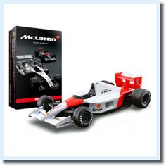 Ayrton Senna Alain Prost Mika Hakkinen McLaren F1 Formula1 Model car Japan Rare