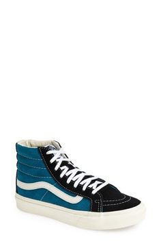 d75ccc8b4e Vans  Sk8-Hi Slim  Suede Sneaker (Women) available at  Nordstrom